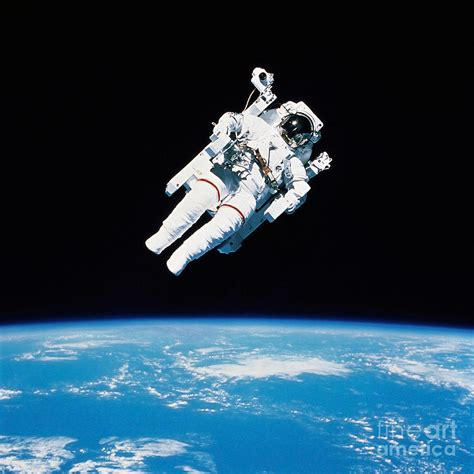 Apps For Floor Plans by Astronaut Floating In Space Photograph By Stocktrek Images