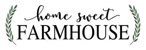 home stencil home sweet farmhouse stencil walltowallstencils