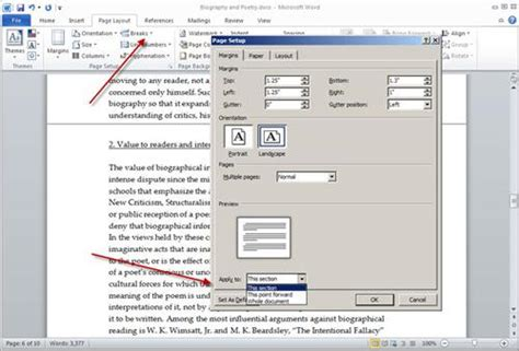 merge sections in word combine portrait and landscape pages in a word document