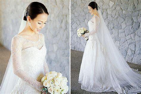 wedding 2014 pinoy actress photo top 10 prettiest celebrity wedding gowns spot ph
