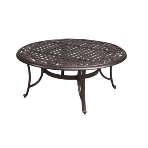 Outdoor Patio Coffee Table Hton Bay Edington 42 In Patio Coffee Table 131 012 42ct The Home Depot