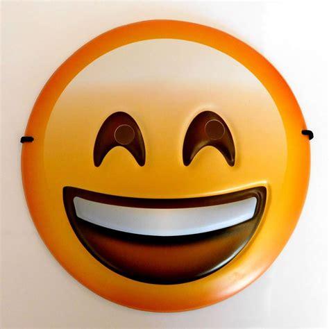 Kids Bedroom Ideas Girls happy face emoji smiley mask kids party fancy dress uk