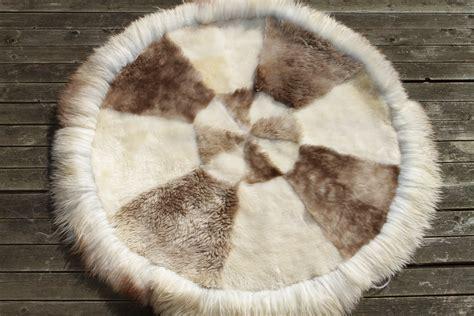 teppich rund 120 cm schaffell teppich rund 120 cm lammfell schaffell shop