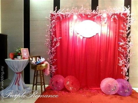 Wedding Backdrop Penang by Indoor Reception Decorations Photo Booth