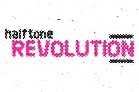 halftone pattern font revolution halftone sans serif fonts on creative market