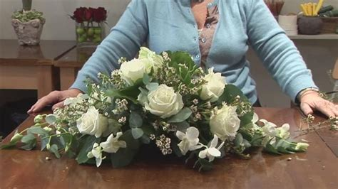 how to make flower arrangements pin by carol seewer on grave stone decoration pinterest
