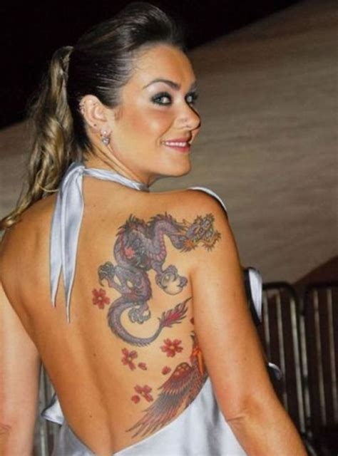 tattoo dragon for girl dragon shoulder and arm tattoos amazing back shoulder