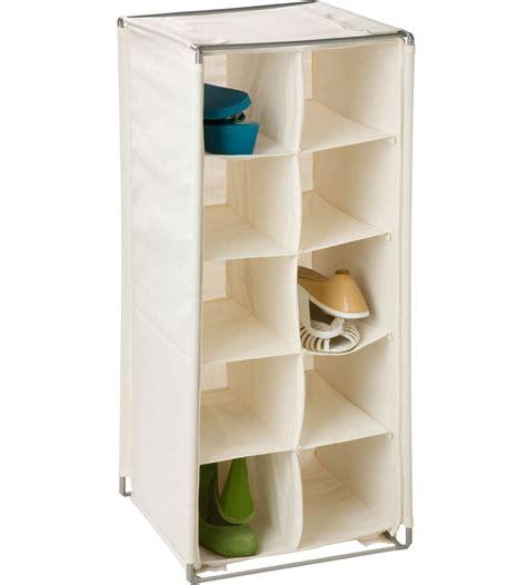 shoe storage pockets 10 pocket shoe organizer in shoe cubbies