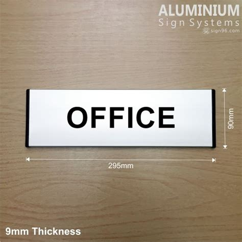 Office Signs For Glass Doors Aluminium Sign System Office Door Signs Made In Malaysia Sign96 Sign Shop Trusted