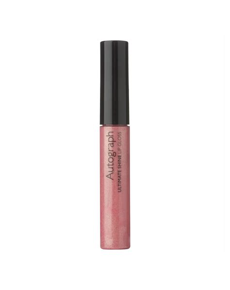 Lipgloss Silky autograph reds from marks spencer bows makeup