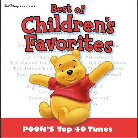 best of pooh best of children s favorites pooh s top 40 disney
