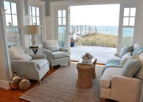 Decorating Small Homes natural elements are beautifully mixed with coastal colors in this