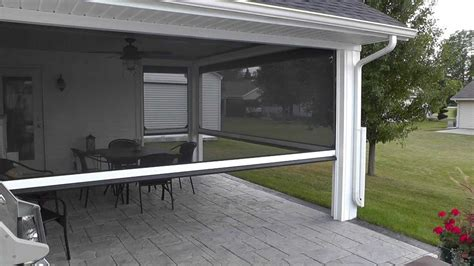 motorized patio shades nashville patio porch and screen