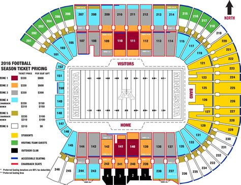 seat bank tcf bank stadium seats per row brokeasshome