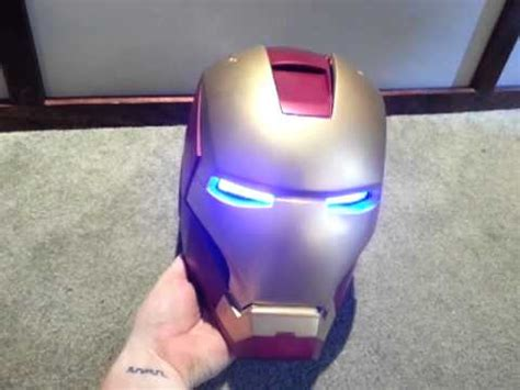 iron man eyes or repulsor tutorial youtube completed iron man mark iii helmet with jarvis youtube