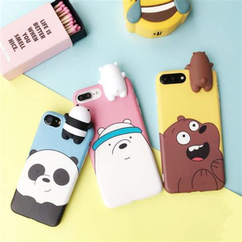 bare bears apple iphone     xr xs max case