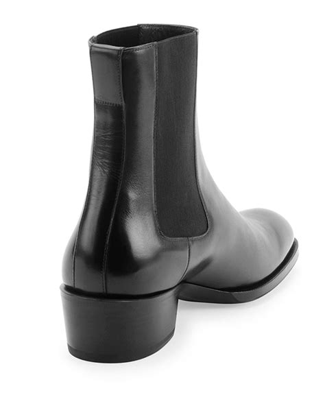 tom ford boots tom ford chelsea boot in black for lyst