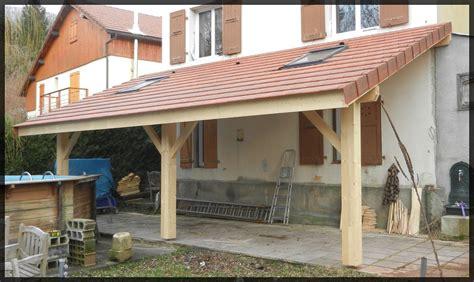 Comment Construire Une Terrasse Couverte 2967 by Appentis De Terrasse