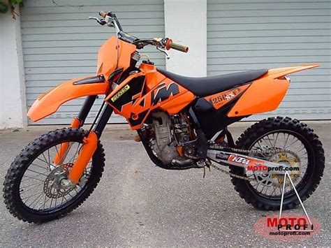 Ktm 250 Sx 2006 Ktm 250 Sx F 2006 Specs And Photos