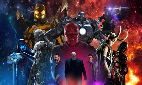 Heroes Marvel Cinematic Kaosraglan 4 marvel cinematic universe villains by cashmoneychris on