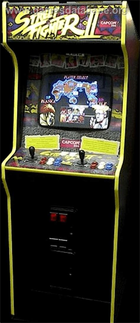 Fighter Ii Arcade Cabinet by Fighter Ii The World Warrior Arcade Database