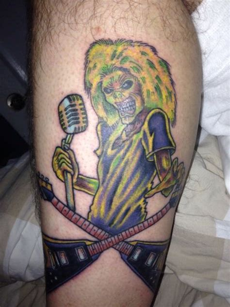 tribal tattoos toronto 20 best eddie images on iron maiden