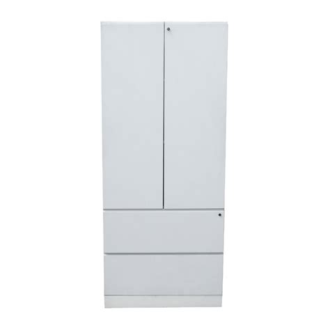 71 5 quot white knoll armoire storage cabinet ebay