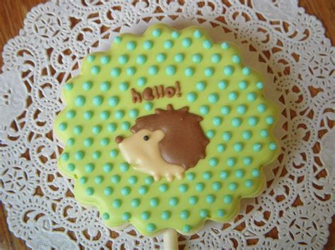 Hedgie Cookies Flickr Photo 17 best images about animal woodland cookies cakes