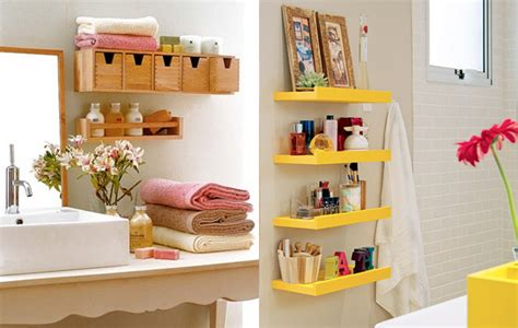Bathroom Storage Ideas For Small Bathroom by Como Organizar Seu Banheiro Guia Completo