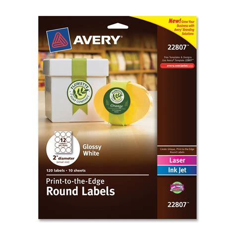 avery easy peel print to the edge label ld products