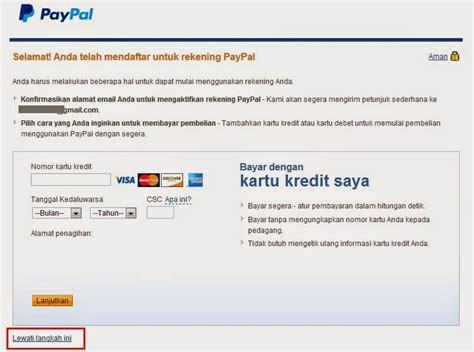 membuat kartu kredit visa atau mastercard cara membuat akun paypal terbaru 2015 untuk menerima