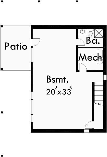 house plans with walkout basement on side side sloping lot house plans walkout basement house plans 10018