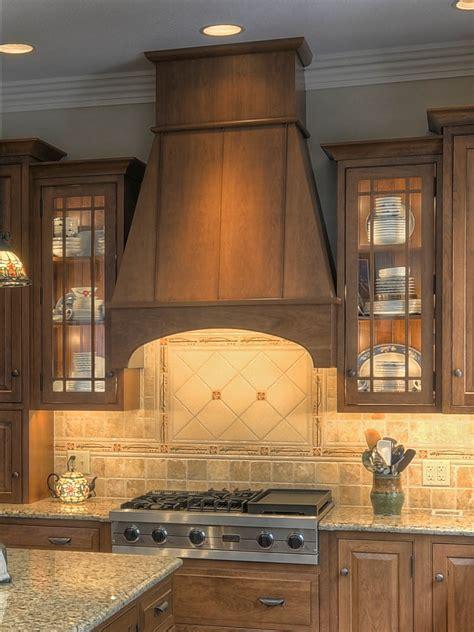 wood kitchen hood designs arts and craft kitchen colonial craft kitchens