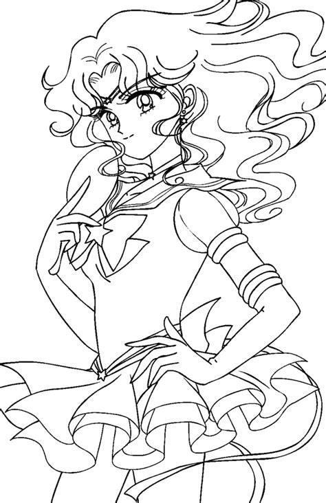 sailor moon coloring pages sailor neptune coloring pages sailor neptune colorin