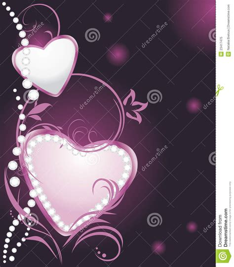 corazones brillantes free corazones brillantes free brilhando os cora 231 245 es de prata e cor de rosa com diamantes