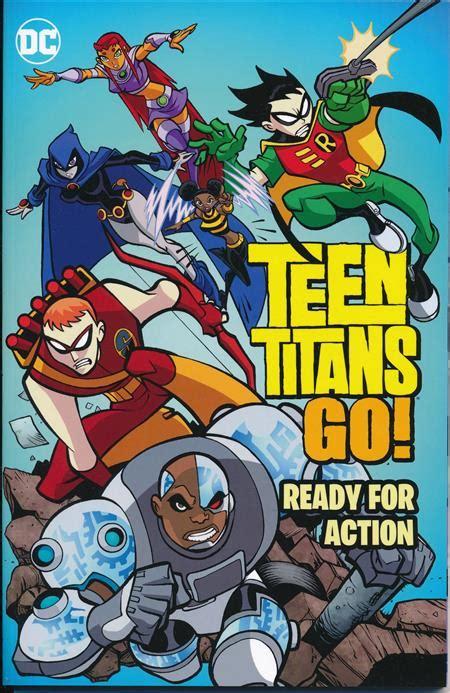 dec160376 titans tp vol 01 the return of teen titans go ready for action tp