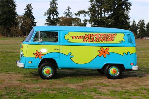 the mystery machine scooby doo transporter surf hippie panel