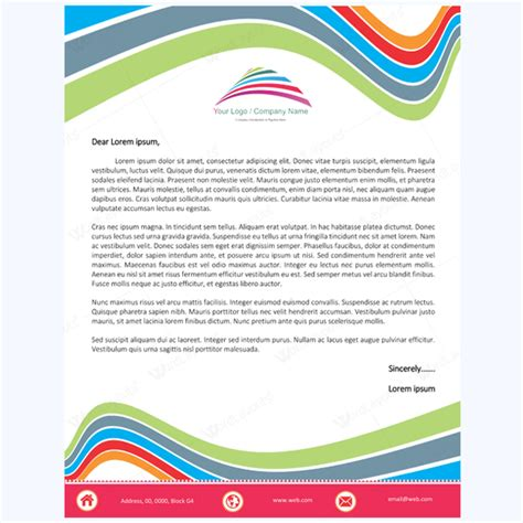 best free letterhead templates 5 letterhead word templates best for any business