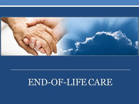 end of life comfort care case study of a critical care patient ppt download