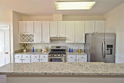 dallas white granite kitchen transitional  stone