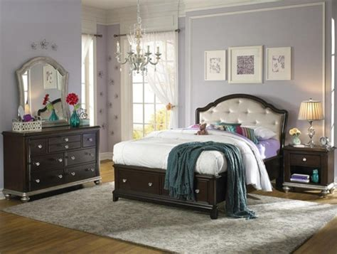 girls full bedroom set samuel lawrence girls glam 7 piece full bedroom set in