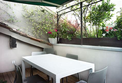 terrazze a tasca interior design progettazione outdoor e disegno arredi in