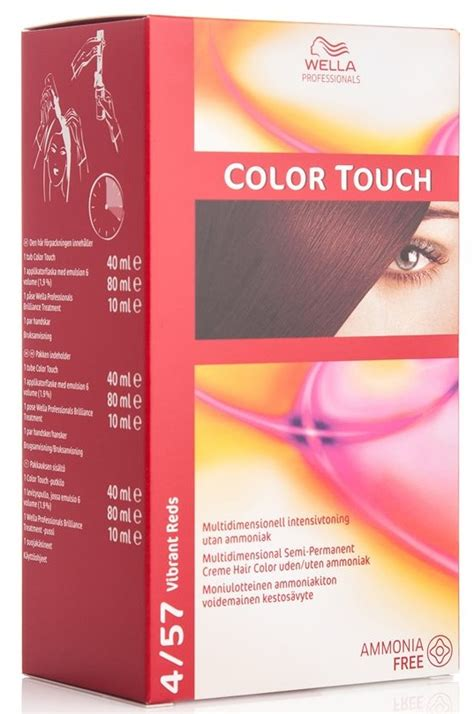 color touch wella wella color touch 4 57 mahognifl 248 jl