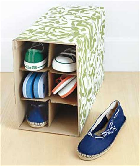 creative shoe storage solutions picture of wine box as shoe storage