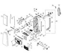 riccar 8955 parts vacuum repair diagrams