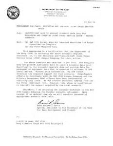 navy memo template department of the navy memorandum for chair education