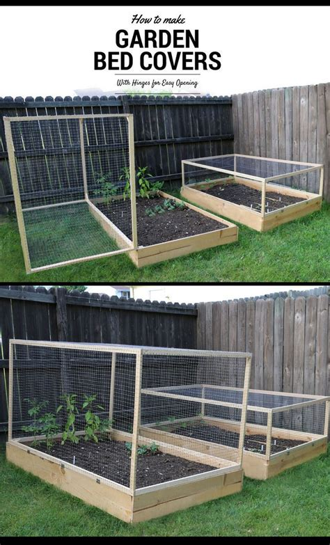 raised garden bed covers this instructable will take you through the process of