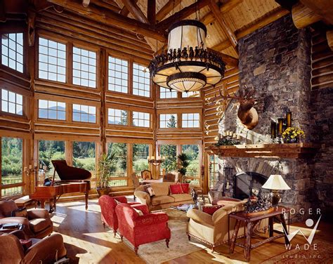 luxury log home interiors benvenutiallangolo luxury cabin interior images
