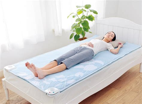 japan trend shop air conditioned bed mat soyo soyo half size