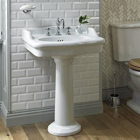 traditional bathroom basin heritage victoria standard basin pedestal traditional